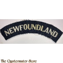 Shoulder flash RAF Newfoundland (No 125 Squadron)