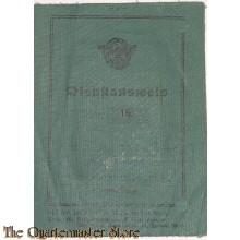 Dienstausweiss Polizei 1943 Abteilung Cilli