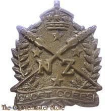 Cap badge New Zealand Cadet Corps WW2