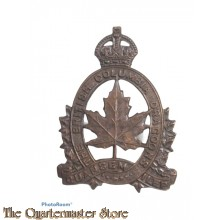 Cap badge The British Columbia Dragoons WW1