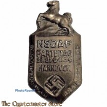 Tinnie NSDAP-Parteitag Hannover 23./25.2. 1934 - Gau Süd-Hannover Braunschweig