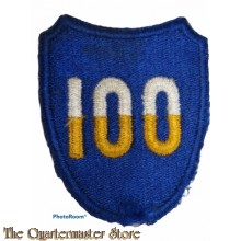 Mouwembleem 100th US Infantry Diivision (Sleeve badge 100th Infantry Division)