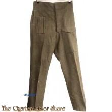 P40 Trousers Battle dress 1945 (Broek wol manschappen P40 1945)