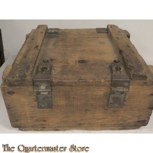 Wooden crate munition US Army WW2