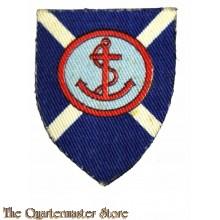 Formation patch 264th Scottish Beach Brigade (canvas)