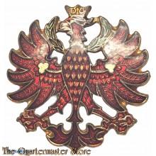 Original Vintage Tirol Austria Eagle Coat of Arms Enamel Lapel/Hat Pin