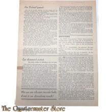 Pamflet 1944  verzet zuid nederland