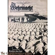Magazine Die Wehrmacht 4e Jrg no 22,  23 okt 1940