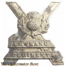 Cap badge 52nd Lowland regiment