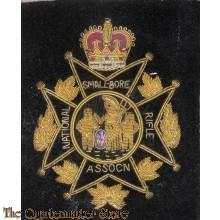 Blazer badge National Small-bore Rifke Assocn post 1952
