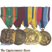Medalbar 5 medals US Navy