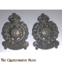 Collar badges 17th Inf Bat (The North Sidney Regiment) 1915-1942