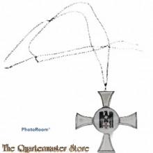 DRK Schwesternkreuz für 10 Dienstjahre Deutsches Rotes Kreuz an Kette