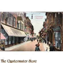 Prent briefkaart 1905 's Gravenhage Wagenstraat