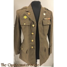 Class A four pocket dress tunic WWII 5th U.S. Airforce