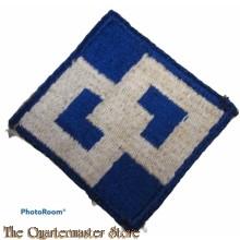 Mouwembleem 2nd US Service Command (Sleeve badge 2nd US Service Command)