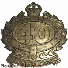 Cap badge 40th Inf Bat (The Derwent Regiment)