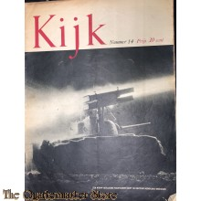 2 Maandelijks blad Kijk no 14 een nieuw geallieerd raketkanon helpt de duitsche nederlaag bezegelen