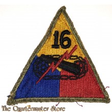 Mouwembleem 16e Armored Divison (Sleevebadge 16th Armored Division)