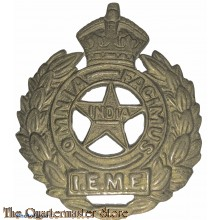 Cap badge Indian Electrical & Mecanical Engineers  (I.E.M.E.)