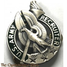 US Army Recruiter Identification Badge