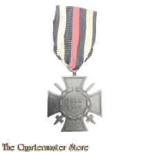 Ehrenkreuz für Frontkämpfer (Hindenburg Cross  for combattants 1914-18)  G & S