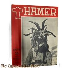 Maandblad de Hamer 4e jrg  no 5,  februari 1944