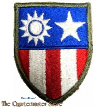 "Mouwembleem China Burma India Theater (Sleeve badge China India Theater) 5307th Composite Unit (Provisional),  ""Merrill's Marauders"""