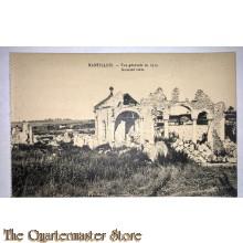 Postcard  Nantillois general view 1917