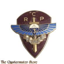 France - Insigne 3rd Parachute Chasseur Regiment