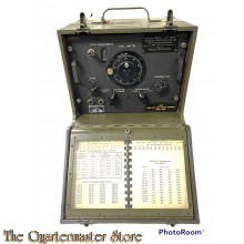 WWII US Army Signal Corps Frequency Meter BC-221-AE 1943
