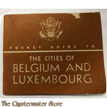 Pocket guide to Belgium and Luxembourg 1944