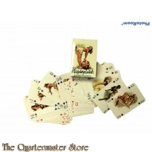 WW2 Allied playing cards (reprint)