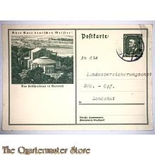Postkarte Das Festspielhaus in Bayreuth ¨Ehrt Eure deutschen Meister!!¨