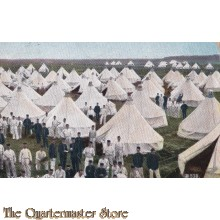 Prent briefkaart 1912 t Kamp van Zeist