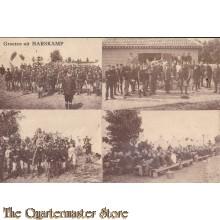 Prent briefkaart 1929 Groeten uit Harskamp