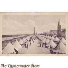 Prent briefkaart 1916 Kampement Ijmuiden