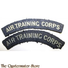 Shoulder titles RAF Air Training Corps