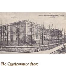 Prent briefkaart 1912 Menno van Coehoorn Kazerne Arnhem