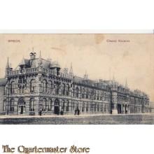Prent briefkaart 1909 Breda Chasse Kazerne