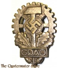 Anstecknadel German Stickpin GDAO (Gesamtverband deutschen Arbeitsopfer)  (Stickpin GDAO General Association of German Victims of Industrial Accidents)