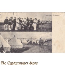 Prent briefkaart 1913Legerplaats Harskamp
