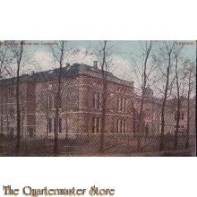 Prent briefkaart 1910 Kazerne Menno van Coehoorn , Arnhem