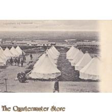 Prent briefkaart 1904 Legerplaats Oldebroek