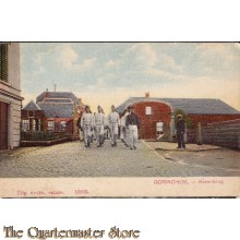 Prent briefkaart mobilisatie 1914 Korenbrug Gorinchem