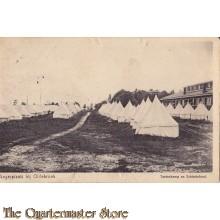 Prent briefkaart 1925 Legerplaats Oldebroek
