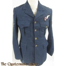 RCAF 4 pocket Tunic, Wireless Air Gunner, Royal Canadian Air Force 1943