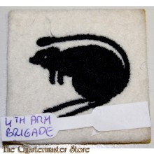 Sleeve badge 4th Mechanized Brigade (The Black Rats)