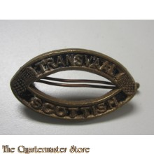 South African 8th Infantry Transvaal Scottish Shoulder Title Badge, WW1