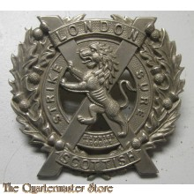 Cap badge London Scottish Regiment